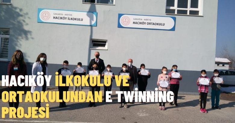 Hacıköy İlkokulu ve Ortaokulundan e twinning projesi