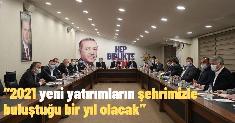 Başkan Ekrem Yüce,İlçe Belediye Başkanları ile düzenlenen istişare ve değerlendirme toplantısında konuştu.