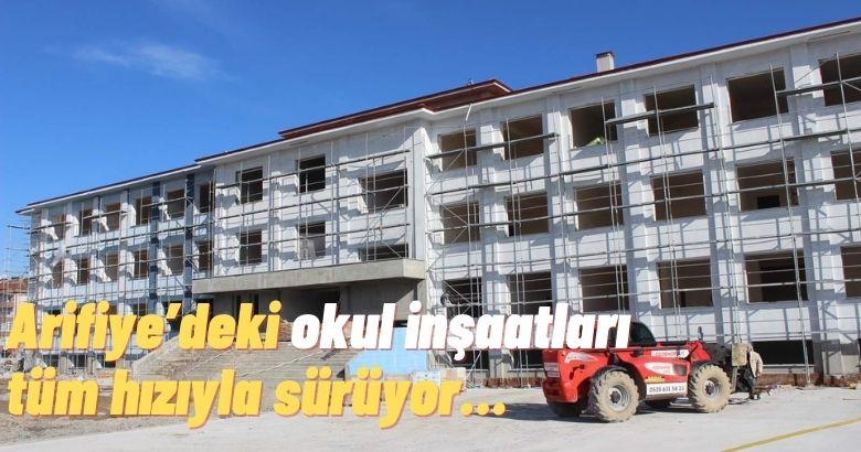 Arifiye'ye Üç Yeni Okul…