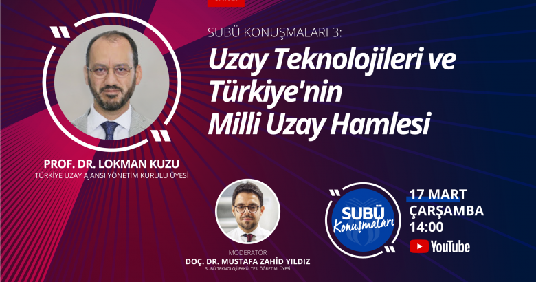 Prof. Dr. Kuzu Milli Uzay Hamlesini anlatacak