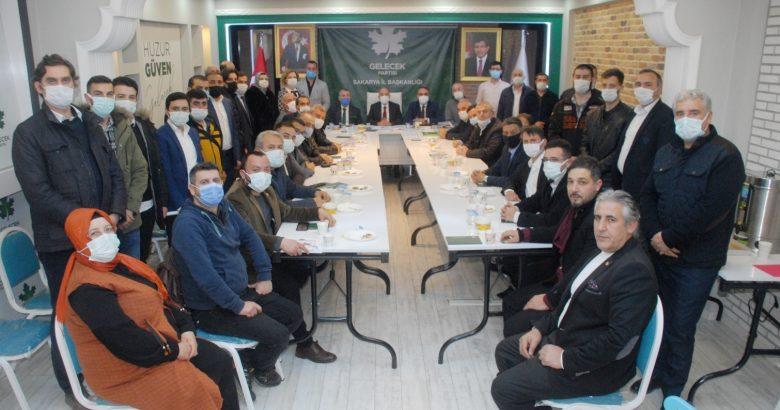Gelecek Sakarya'nın ilk Yönetim Kurulu Toplantısı'na katıldı