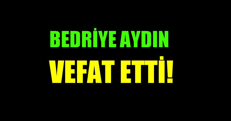 AYDIN AİLESİNİN ACI GÜNÜ!..