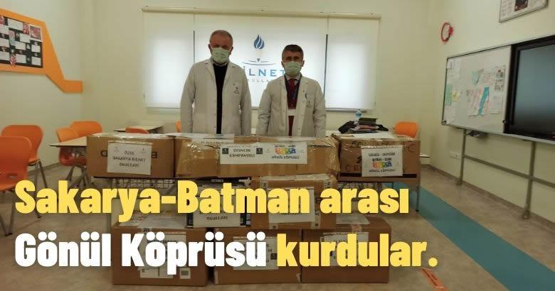 Sakarya-Batman arası Gönül Köprüsü kurdular.