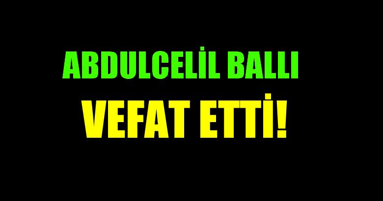 BALLI AİLESİNİN ACI GÜNÜ!..