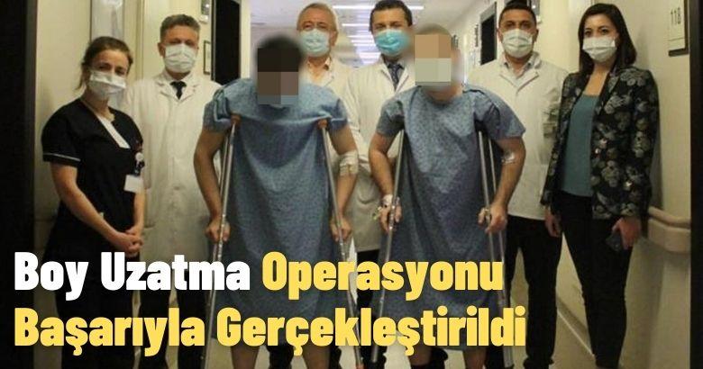 Özel Medar Hastanesi Sakarya'da Boy Uzatma Operasyonu Başarıyla Gerçekleştirildi