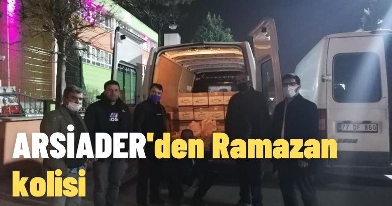 ARSİADER'den Ramazan kolisi