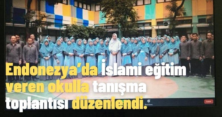 Arifiye Anadolu İmam Hatip Lisesinden Endonezya açılımı…
