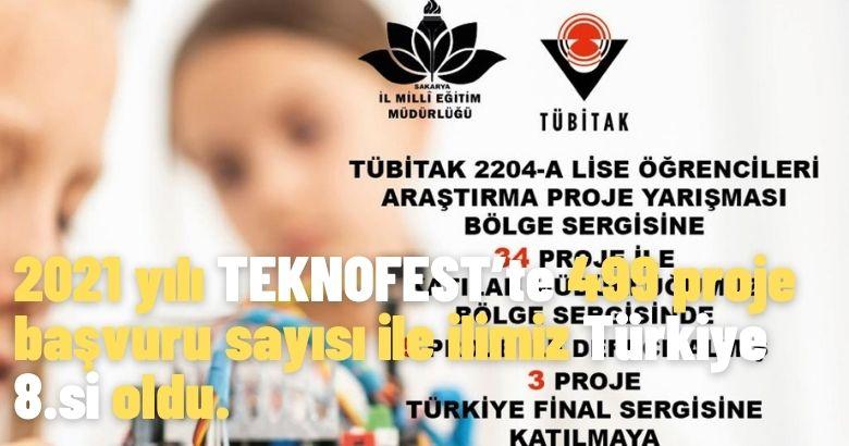 Sakarya'da Bilime Sevdalı Çocuklar Yetiştirmenin Yolu  TÜBİTAK Projelerinden Geçiyor…