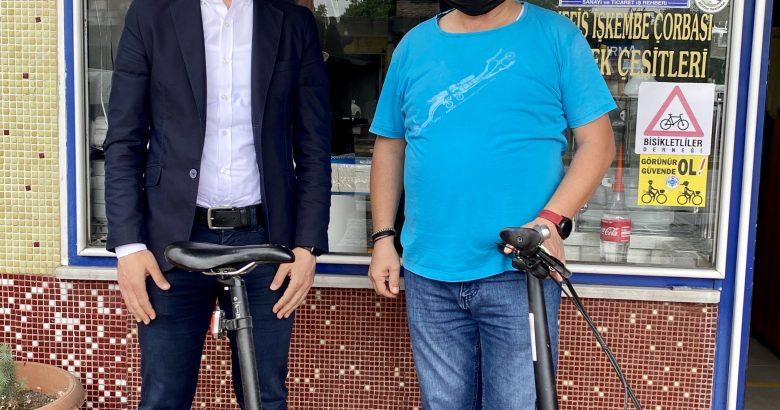 Serbes: Bisiklette bir ulaşım aracı olarak görülmeli ve trafikte saygı duyulmalı