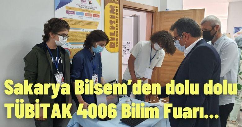 25 projenin sergilendiği TÜBİTAK 4006 Bilim Fuarı başarıyla gerçekleştirildi