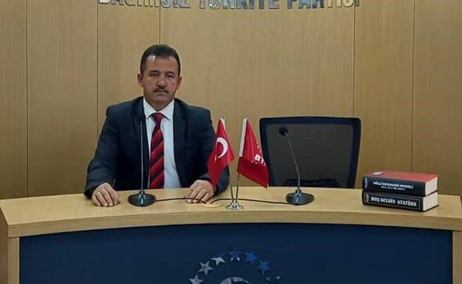 BTP İl Başkanı Sağlam'dan  Kurban bayramı mesajı…