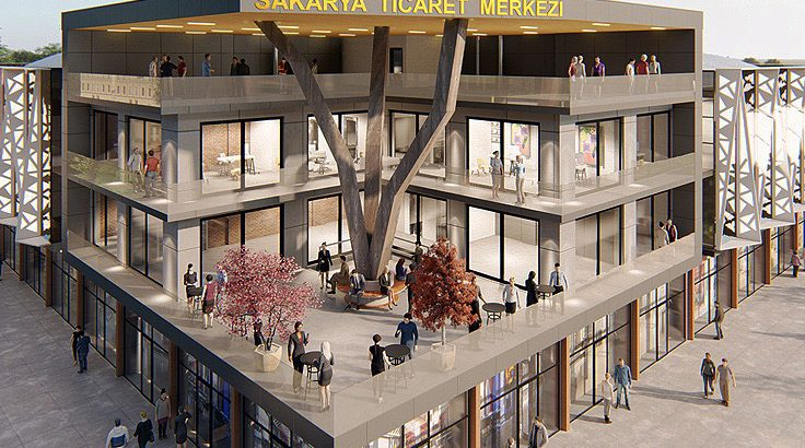 Yeni Ticaret Merkezi tanıtılacak