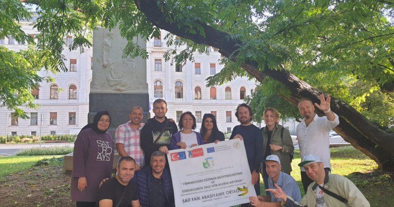 Sakaryalı Öğretmenler Çevre Projesi için Slovenya'da eğitim aldılar.