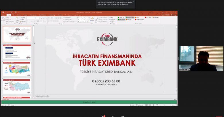 Türk Eximbank Yetkilileri SATSO Üyesi İhracatçıları Bilgilendirdi