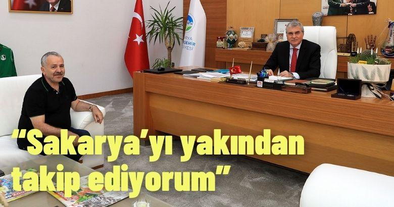 Lahey Büyükelçisi Şaban Dişli Sakarya'da..