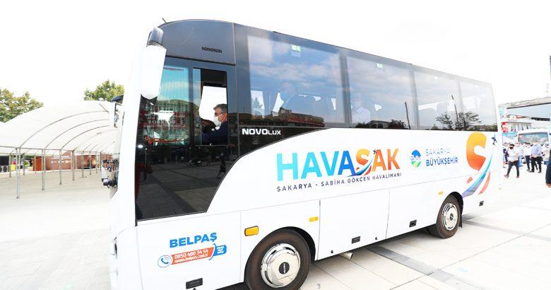 HAVASAK, 53 bin yolcuyu Sabiha Gökçen'e taşıdı