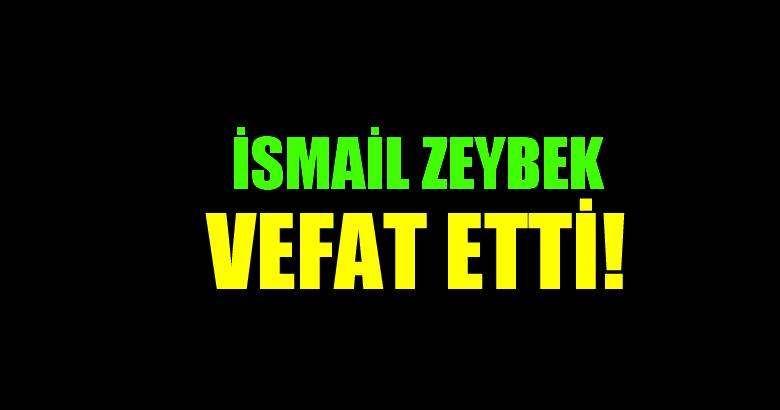 ZEYBEK AİLESİNİN ACI GÜNÜ!..