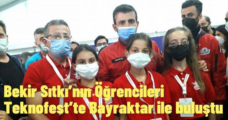 Arifiye Bekir Sıtkı'nın Öğrencileri Teknofest'te Bayraktar ile buluştu