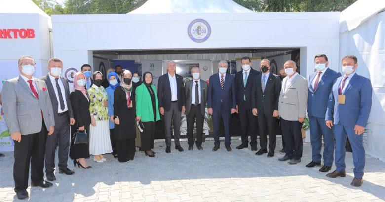 """""""Sakarya PSB Anatolia 2021 Fuarı'nda SATSO'da  Stand açtı"""