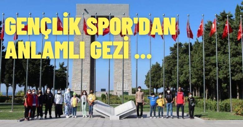 40 öğrenciye Çanakkale Gezisi düzenlendi.