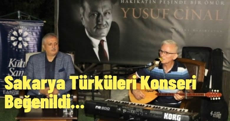 TYB Sakarya'nın İrfan Özmert – Sakarya Türküleri Konseri Beğenildi