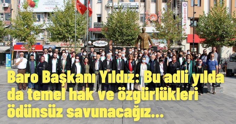"""""""Adaletin sesi halkın nefesiyiz"""""""