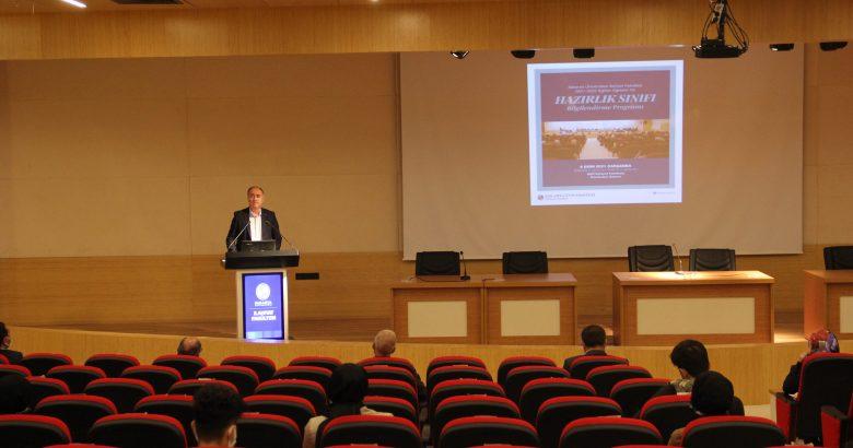 İlahiyat Fakültesi Hazırlık Sınıfları Bilgilendirme Toplantısı Gerçekleştirildi