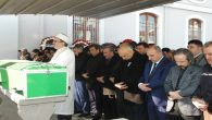 CHP Eski İl Başkanı Selçuk Gedikli son yolculuğuna uğurlandı.
