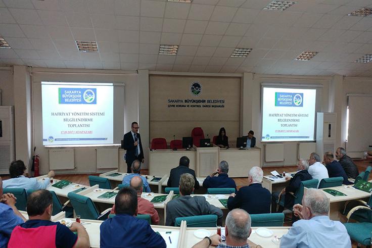 Hafriyatçılara bilgilendirme toplantısı