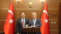 Kütahya Valisi Nayir Vali Balkanlıoğlu'nu Ziyaret Etti