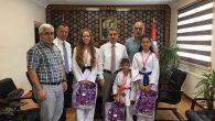 Arifiye'nin Başarılı Karatecileri Ödüllendirildi
