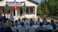 Mollaköy ve Hacıköy Mahallelerinde Halk Toplantısı Yapıldı
