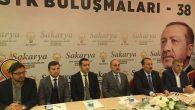 Ak Parti Genel Başkan Yardımcısı Karacan Sakarya'ya geldi