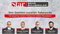 Star Gazetesi Yazarları SAÜ'ye Geliyor