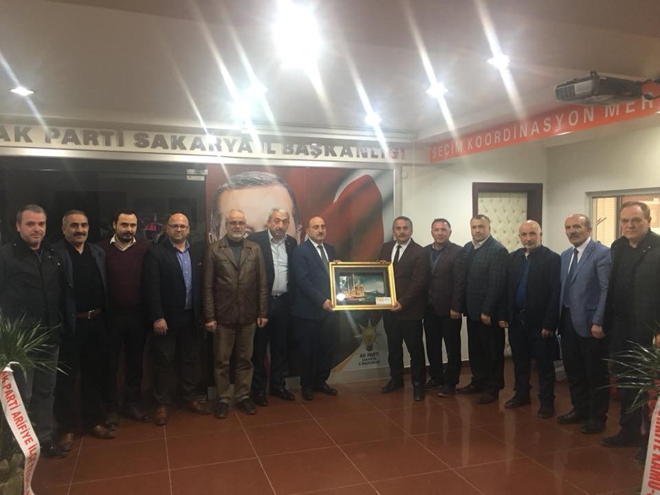 Başkan Karakullukçu Meclis Üyeleri İle Ak Parti İl Başkanı Kılıç'ı ziyaret etti