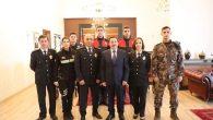 İl Emniyet Müdürlüğünden Vali Balkanlıoğlu'na Polis Haftası Ziyareti