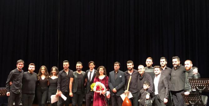 SAÜ'de Türk Halk Müziği Konseri
