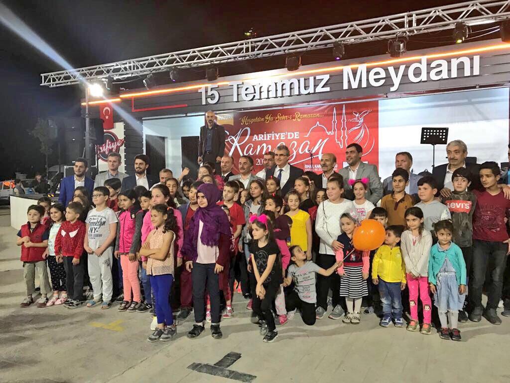 Arifiye'de Ramazan Coşkusu Tüm Hızıyla Sürüyor…