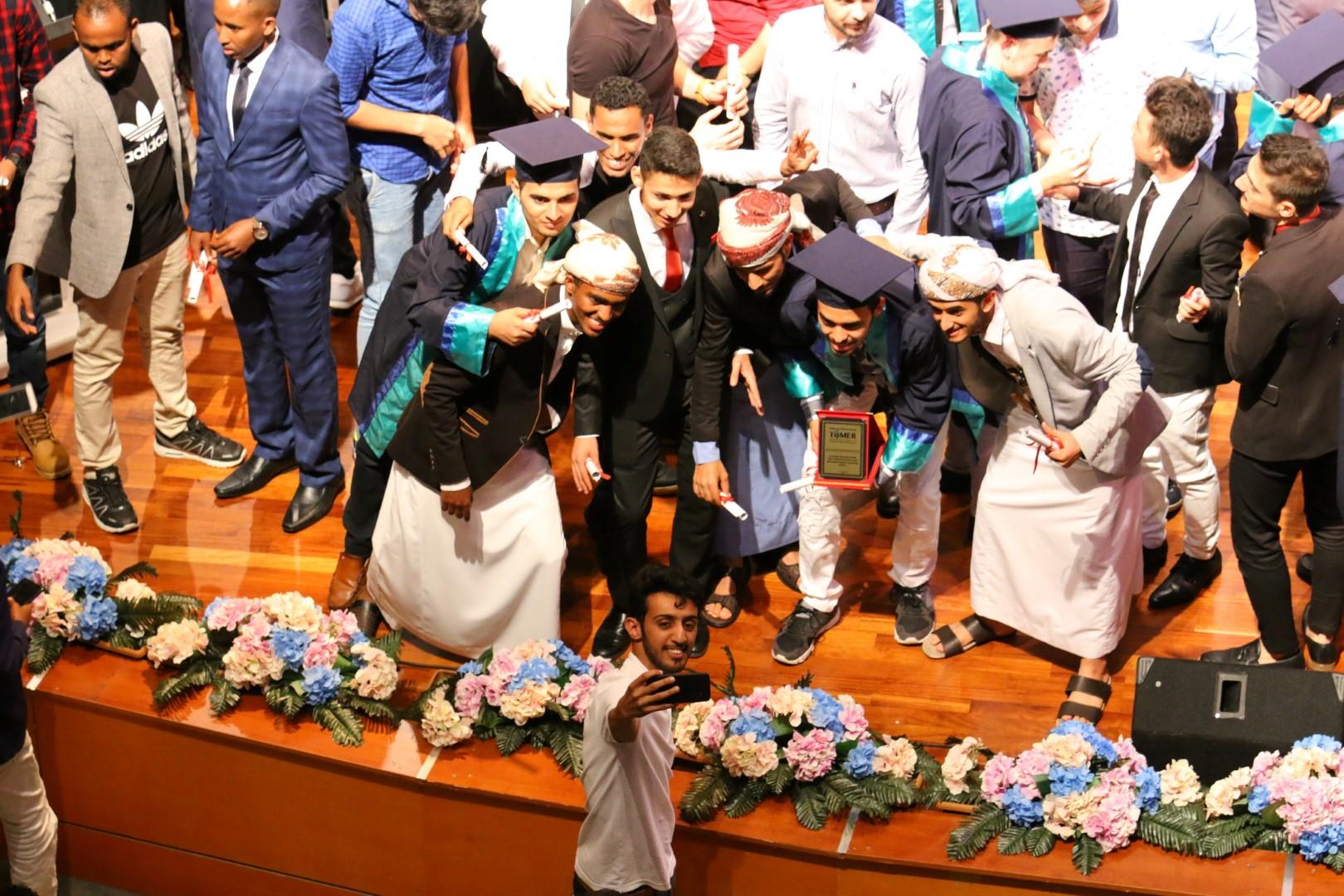 Uluslararası Öğrencilerden Coşkulu Türkçe Şöleni