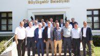 Başkan Toçoğlu ,ASKF Başkanı Yaşar Zımba ve yönetimi ile bir araya geldi