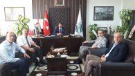Arifiye'den SUBÜ Rektörü Prof.Dr. Mehmet Sarıbıyık'a ziyaret