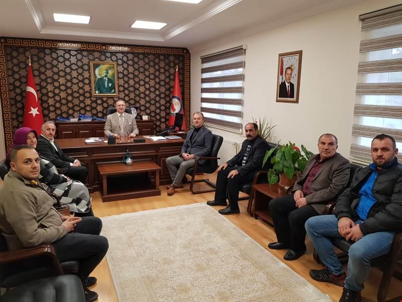 AK Parti Arifiye İlçe Teşkilatından Kaymakamımız Dınkırcı'ya Hayırlı Olsun Ziyareti