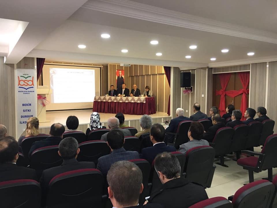 Ara Dönem Arifiye İlçe Eğitim Kurumu Müdürleri Toplantısı yapıldı