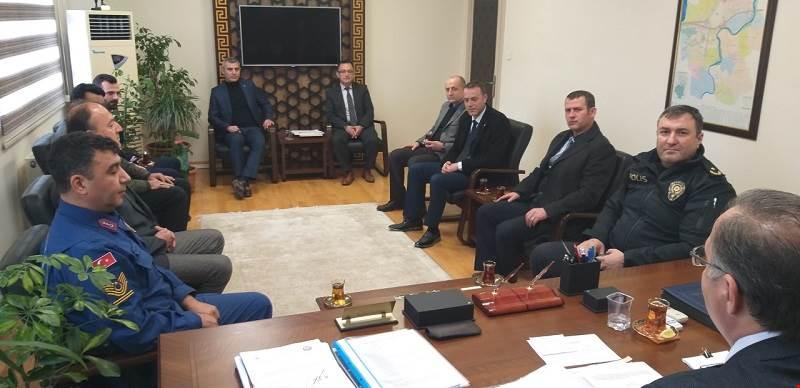 Seçim Güvenliği Toplantısı Gerçekleştirildi.