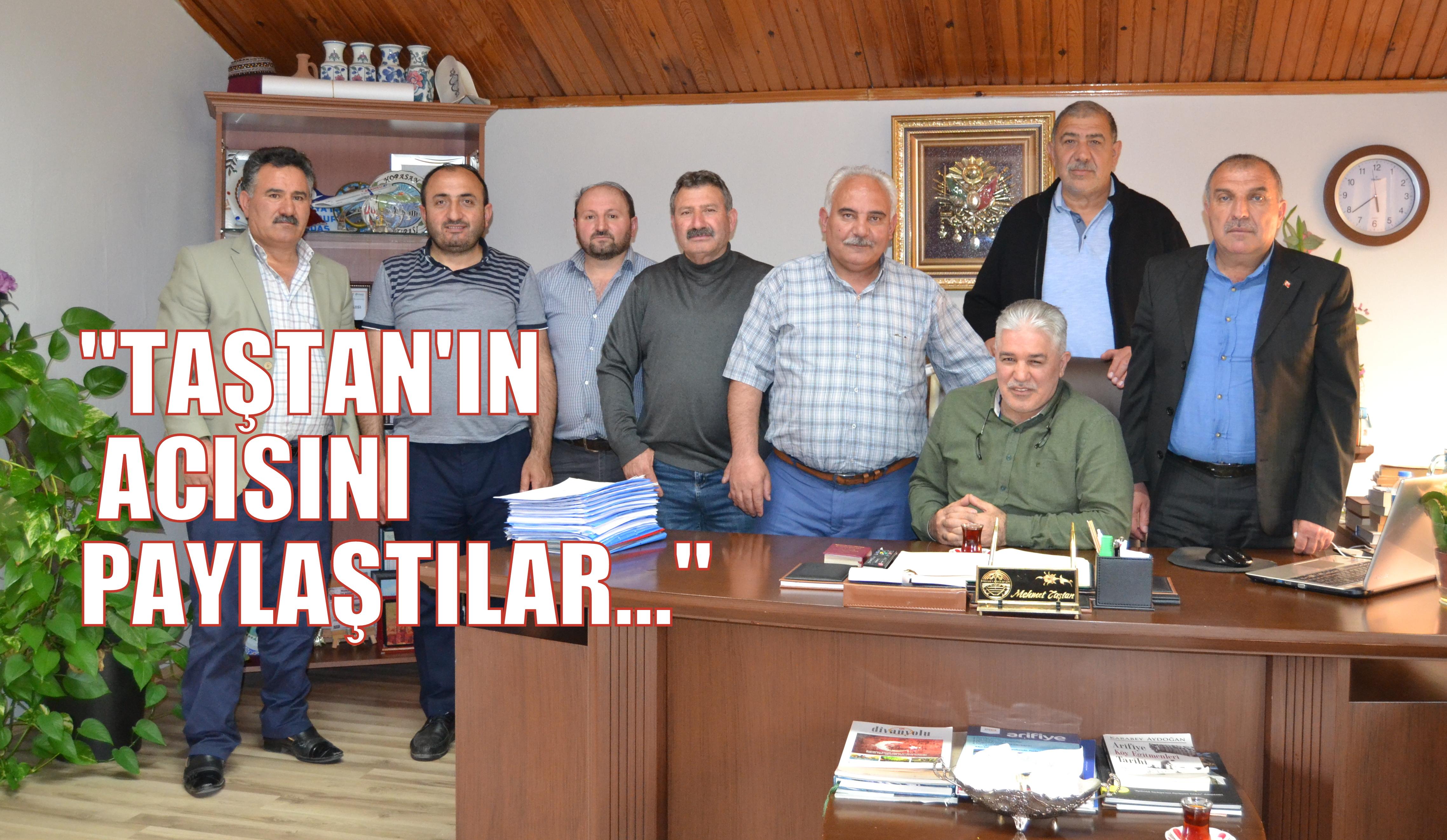 Arifiye Erzurumlular Derneğinden Taziye ve Geçmiş Olsun ziyareti