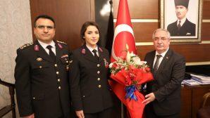 Vali Nayir Jandarma Teşkilatı Mensuplarını Kabul Etti