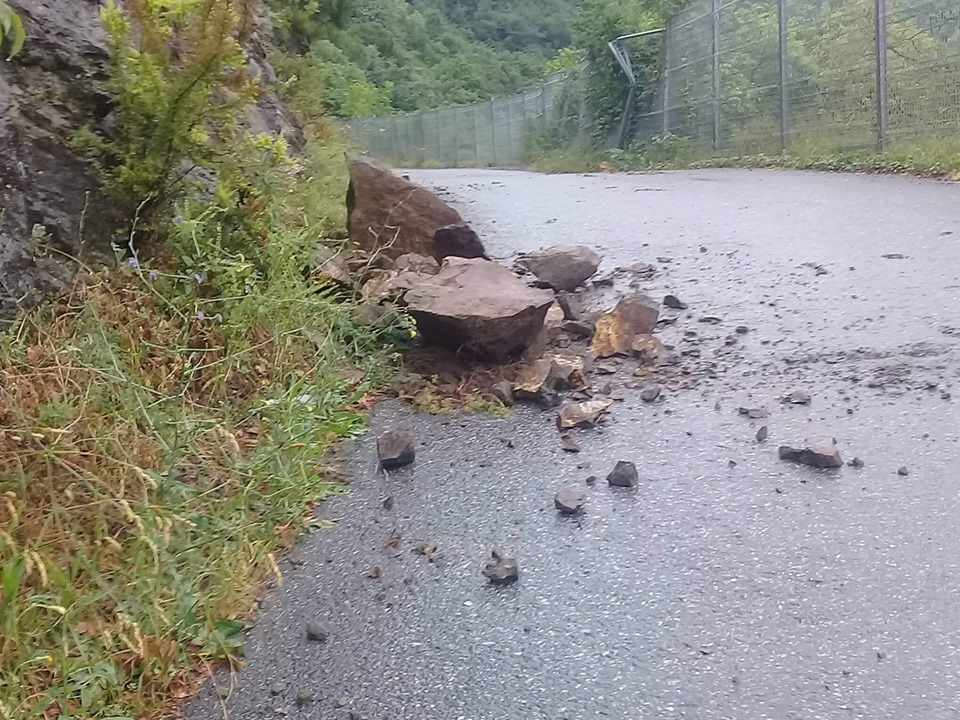 Boğazköy'de her yağış sonrası aynı tehlike!