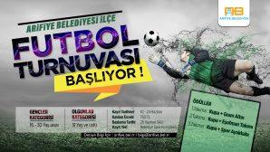Arifiye Belediyesi İlçe Futbol Turnuvası başlıyor