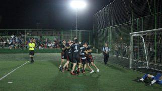 İlçe Futbol Turnuvası Yarı Final müsabakalarıyla devam etti.