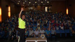 Arifiye 'de Yaz Kuran Kursu öğrencilerine Trafik Eğitimi verildi.